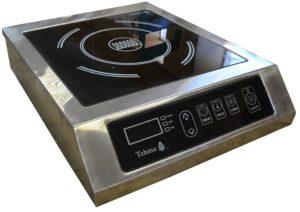 Индукционная плита 1но конфорочная настольная 2,2 кВт или 3,5 кВт (365х445х110) купить в Днепре