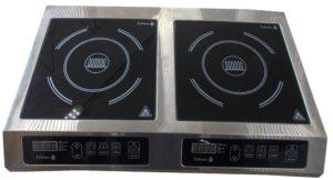 Индукционная плита 2-х конфорочная настольная 2,2 кВт или 3,5 кВт (710х445х110) купить в Днепре